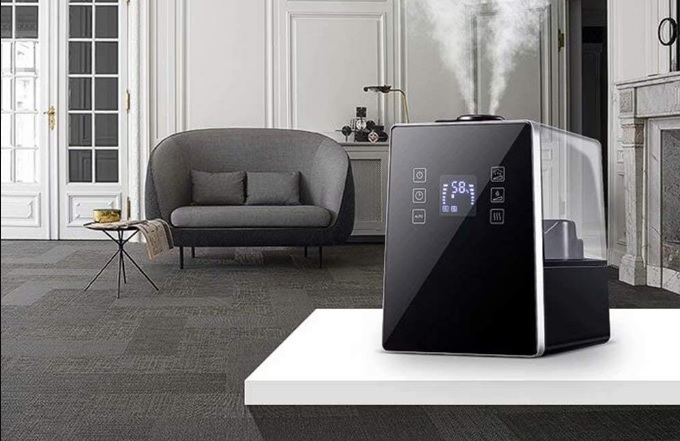 best position for humidifier